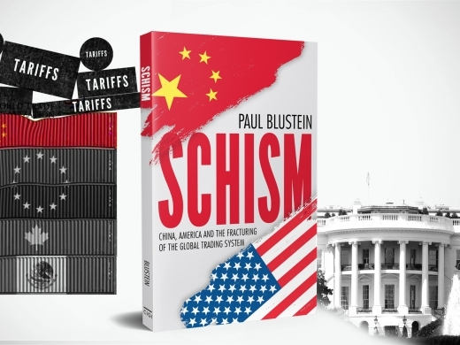 """Schism"" A New Book by Paul Blustein - Trump Tariffs"