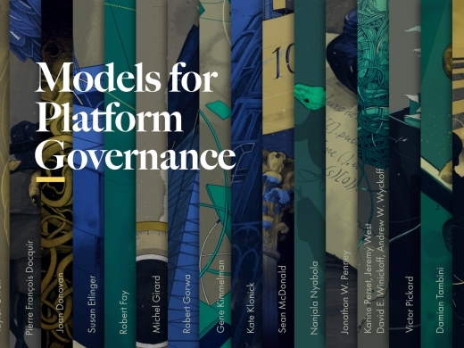 Models for Platform Governance