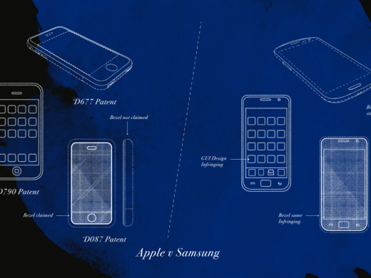 Apple v Samsung illustration