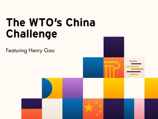 The WTO's China Challenge