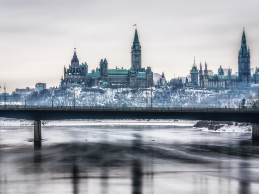 Ottawa in winter