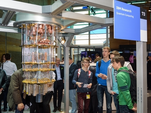IBM Quantum Computer at CeBIT 2018