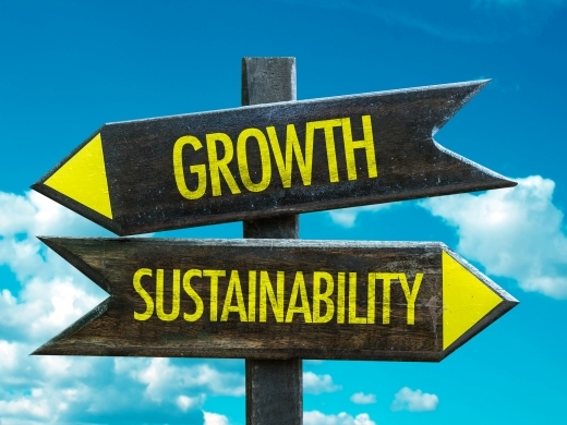 growth and sustainability signs