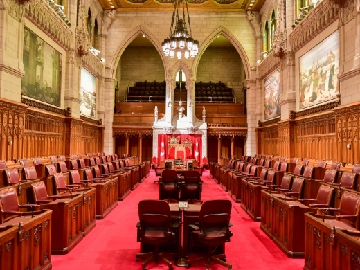 Senate of Canada (Shutterstock)