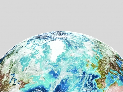 networked globe