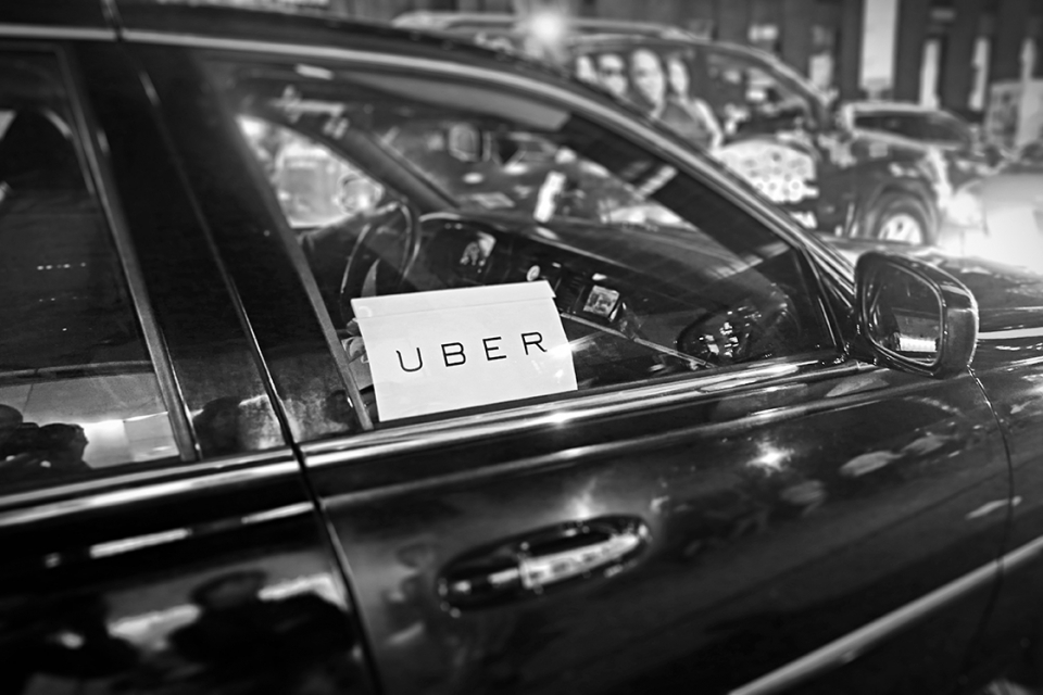 Tech companies can use a mix of private data (for example, data collected by companies such as Uber) and public data as training data to offer transportation planning services and modelling products. (Photo: MikeDotta / Shutterstock.com)