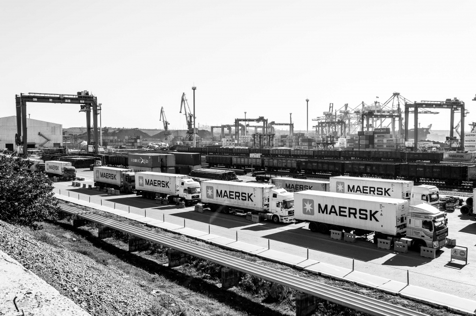 The headquarters of shipping company Maersk were brought to a standstill by the NotPetya malware in 2017, causing disruptions at ports around the world. (Photo: Ninelro / Shutterstock.com)