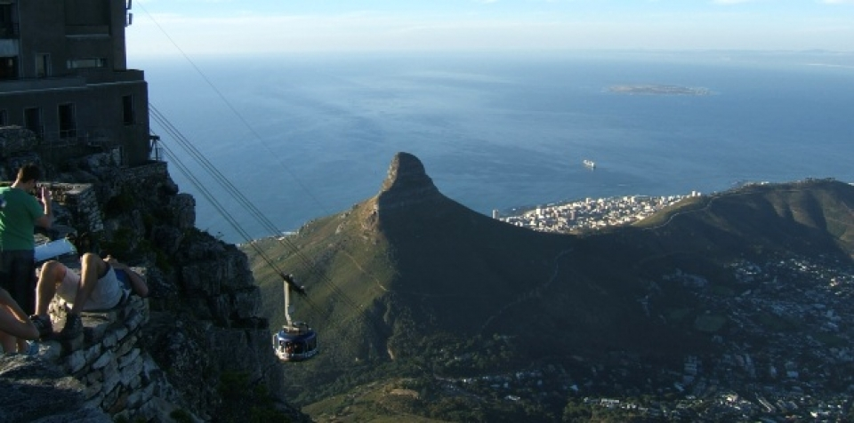 Table Mountain in Cape Town (Photo: Margaret Walton-Roberts).