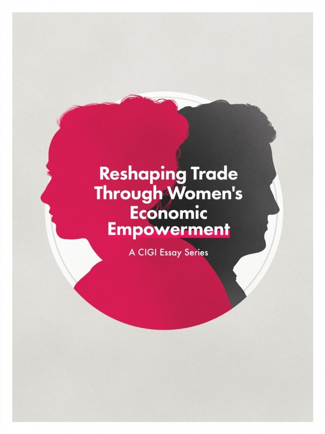 Women and trade poster