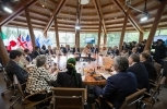 Finance Minister Bill Morneau and Minister of International Development Marie-Claude Bibeau co-host G7 meetings in Whistler (Global Affairs Canada Photo).