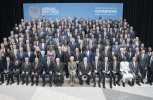 Finance Ministers and Bank Governors pose for a group photo at the IMF/World Bank Annual Meetings in October 2017. (IMF Staff Photo/Stephen Jaffe)