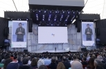Google CEO Sundar Pichai speaks at the Google I/O conference in Mountain View, California on May 8, 2018. (AP Photo/Jeff Chiu)