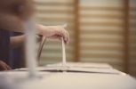 Physical ballots can't be hacked — but other parts of the process aren't immune. (Shutterstock)