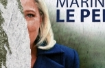 French election poster (AP Photo)