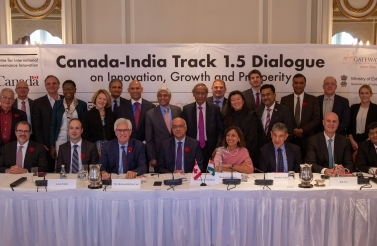 The Canada-India Track 1.5 Dialogue on Innovation, Growth and Prosperity on October 30, 2018 in Ottawa, Ontario.