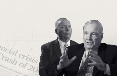 Larry Summers and Paul Martin