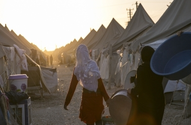 View from Akcakale Refugee Camp, Turkey (Tolga Sezgin / Shutterstock.com)