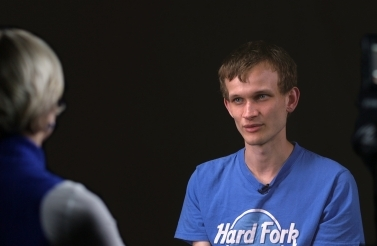 Photo of Ethereum founder Vitalik Buterin