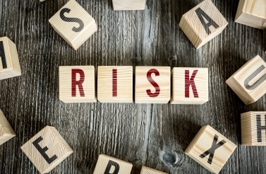 Blocks spelling risk