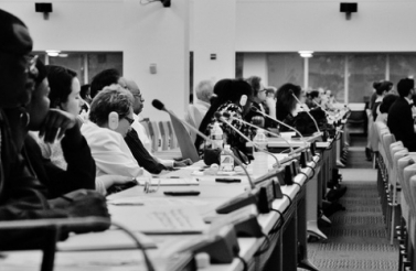 High Level Dialogue Civil Society meeting, July 2013 (Photography by Texty.nl).
